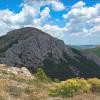 Гора Сандык-Кая и средневековая крепость