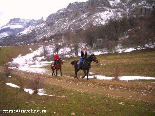 Конный туризм в Крыму