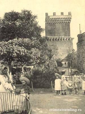 Парк Юбилейный. Башня Св. Константина