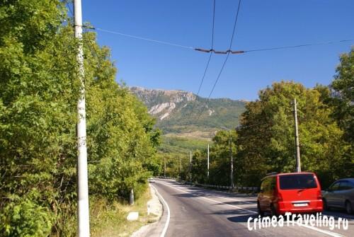 Трасса Ангарский перевал - Алушта