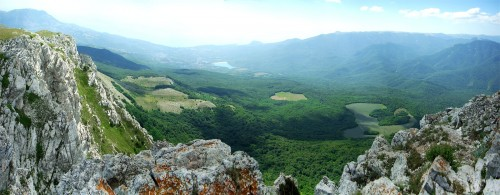Чатыр-Даг. Панорама